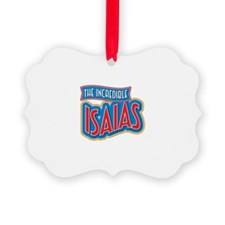 The Incredible Isaias Ornament