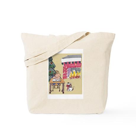 Sorry Santa Tote Bag