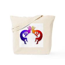 Kokopelli (Fire & Ice) Tote Bag