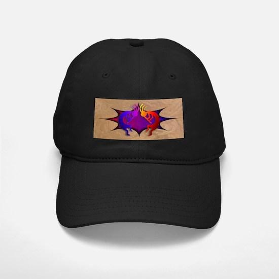 Kokopelli (Fire & Ice) Baseball Hat