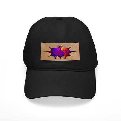 Kokopelli (Fire & Ice) Black Cap