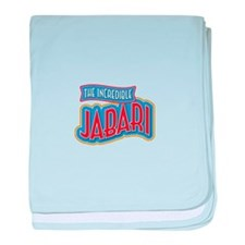 The Incredible Jabari baby blanket
