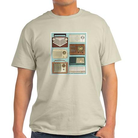 Classic Radios Ash Grey T-Shirt