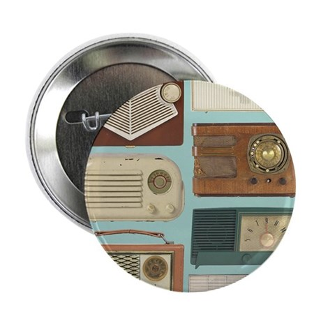 """Classic Radios 2.25"""" Button (100 pack)"""