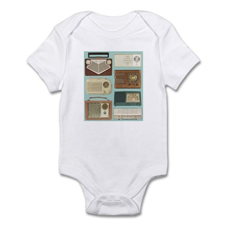 Classic Radios Infant Bodysuit