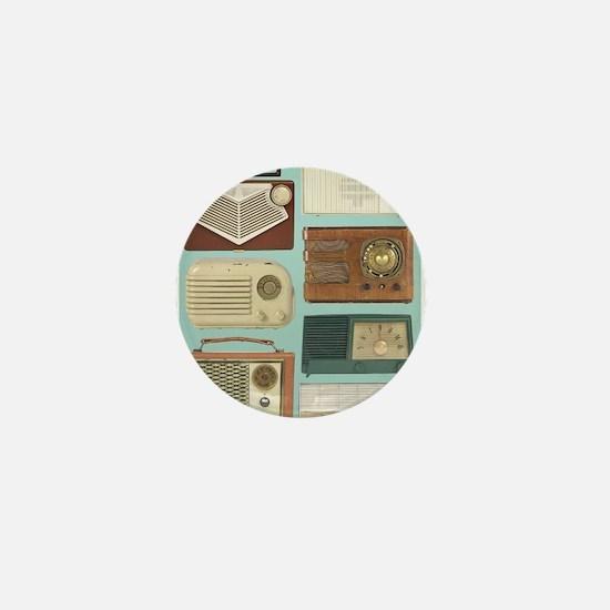 Classic Radios Mini Button