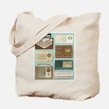 Classic Radios Tote Bag