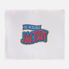 The Incredible Jacoby Throw Blanket
