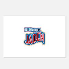The Incredible Jaden Postcards (Package of 8)