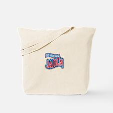 The Incredible Jaden Tote Bag