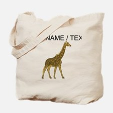 Custom Giraffe Tote Bag