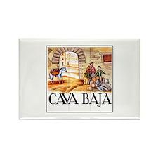 Cava Baja, Madrid - Spain Rectangle Magnet