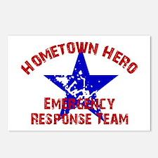 Hometown Hero ERT Postcards (Package of 8)