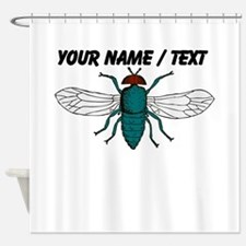 Custom Fly Shower Curtain