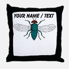Custom Fly Throw Pillow