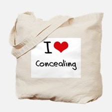 I love Concealing Tote Bag