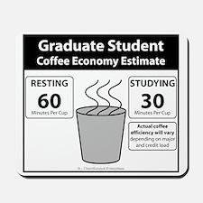 Coffee Economy Mousepad