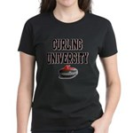 Curling University Women's Dark T-Shirt