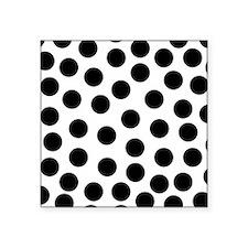 Big Black Polka Dots Sticker