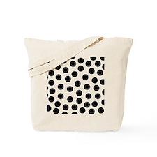 Big Black Polka Dots Tote Bag