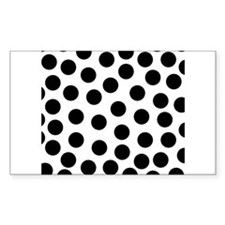 Big Black Polka Dots Decal