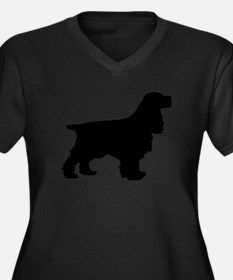 Cocker Spaniel Black Plus Size T-Shirt