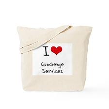 I love Concierge Services Tote Bag