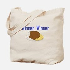 Winner, Winner Chicken Dinner Tote Bag