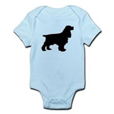 Cocker Spaniel Black Body Suit