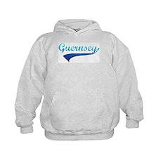 Blue Guernsey Hoodie