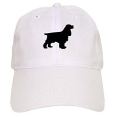 Cocker Spaniel Black Baseball Baseball Cap