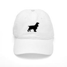 Cocker Spaniel Black Baseball Cap