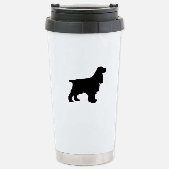 Cocker Spaniel Black Travel Mug