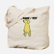 Custom Golden Retriever Tote Bag