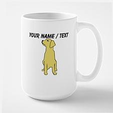 Custom Golden Retriever Mug