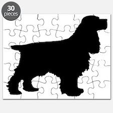 Cocker Spaniel Black Puzzle
