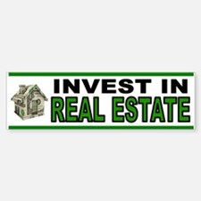 REAL ESTATE Bumper Bumper Bumper Sticker