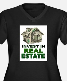 REAL ESTATE Plus Size T-Shirt