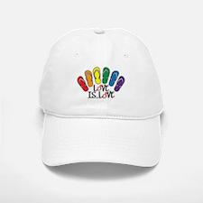 Love Is Love Flip Flops Gay Baseball Baseball Baseball Cap