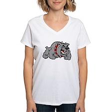 grey bulldog T-Shirt