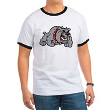 grey bulldog T-Shirt