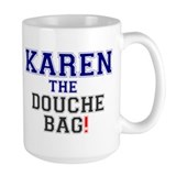 Karen douche Coffee Mugs