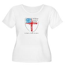 Episcopal Churches in Huntington Plus Size T-Shirt
