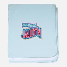 The Incredible Jaidyn baby blanket