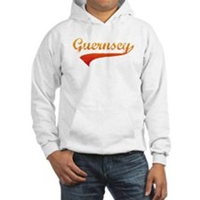 Red/Orange Guernsey Jumper Hoodie