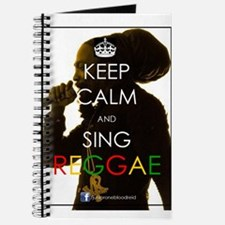 Unique Keep calm and sing soft kitty Journal