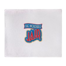 The Incredible Jair Throw Blanket