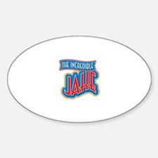 The Incredible Jake Decal