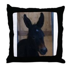 Miss Lily LongEars Throw Pillow