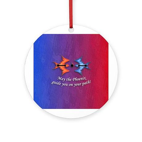 Warding off Evil (Phoenix) Ornament (Round)
